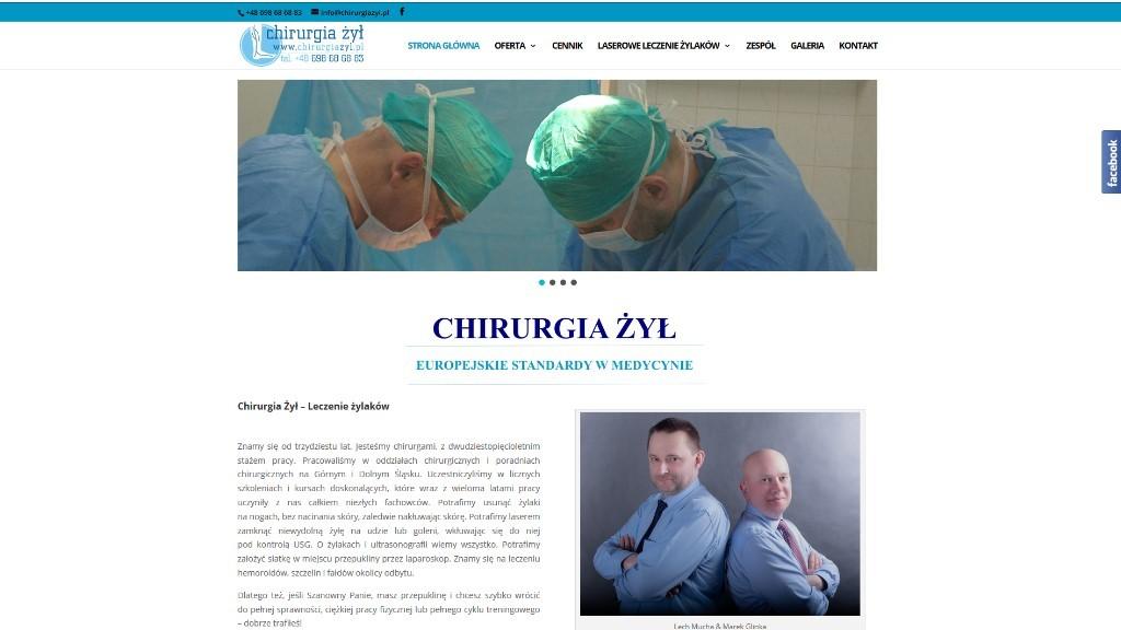CHIRURGIAZYL.PL – nasza kolejna realizacja WWW